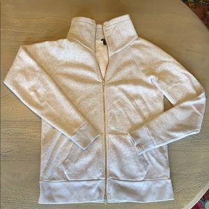 J Crew zip up sweatshirt